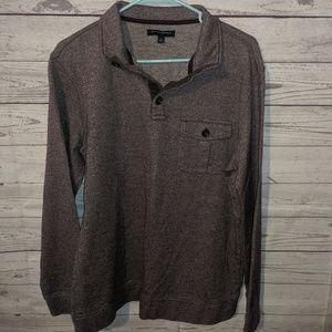Collared men's sweater